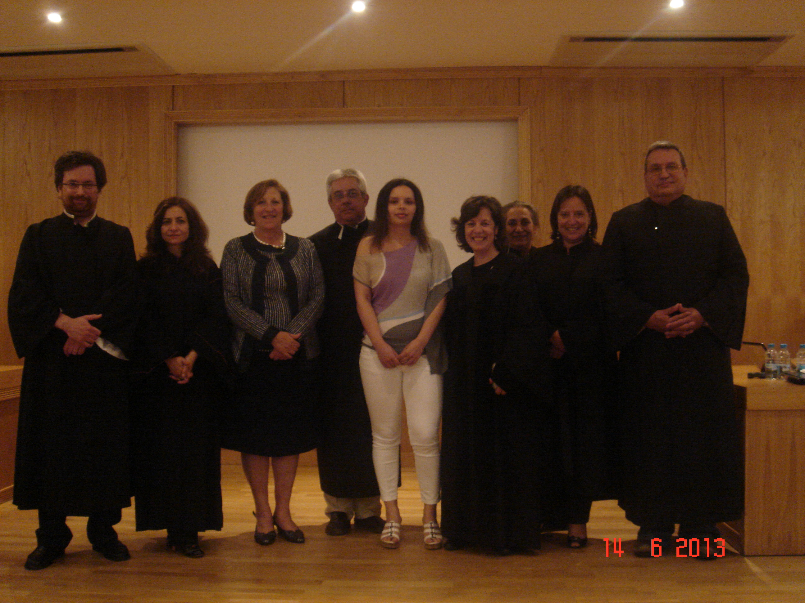 Doutoramento de Catarina Soares/PhD of Catarina Soares